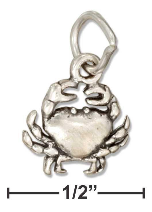 Sterling Silver Mini Crab Charm