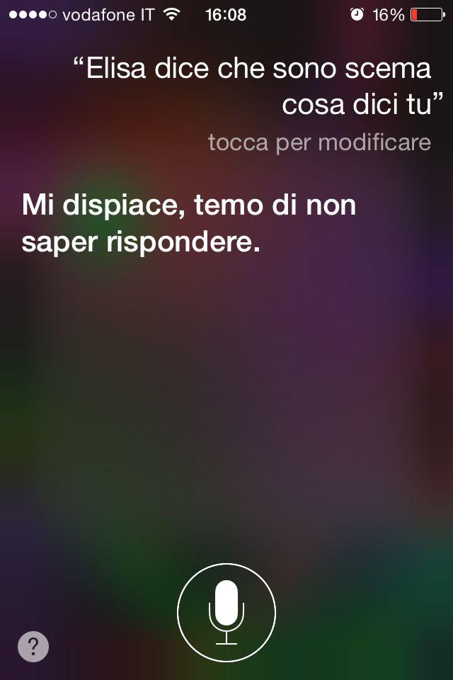 Siri domande