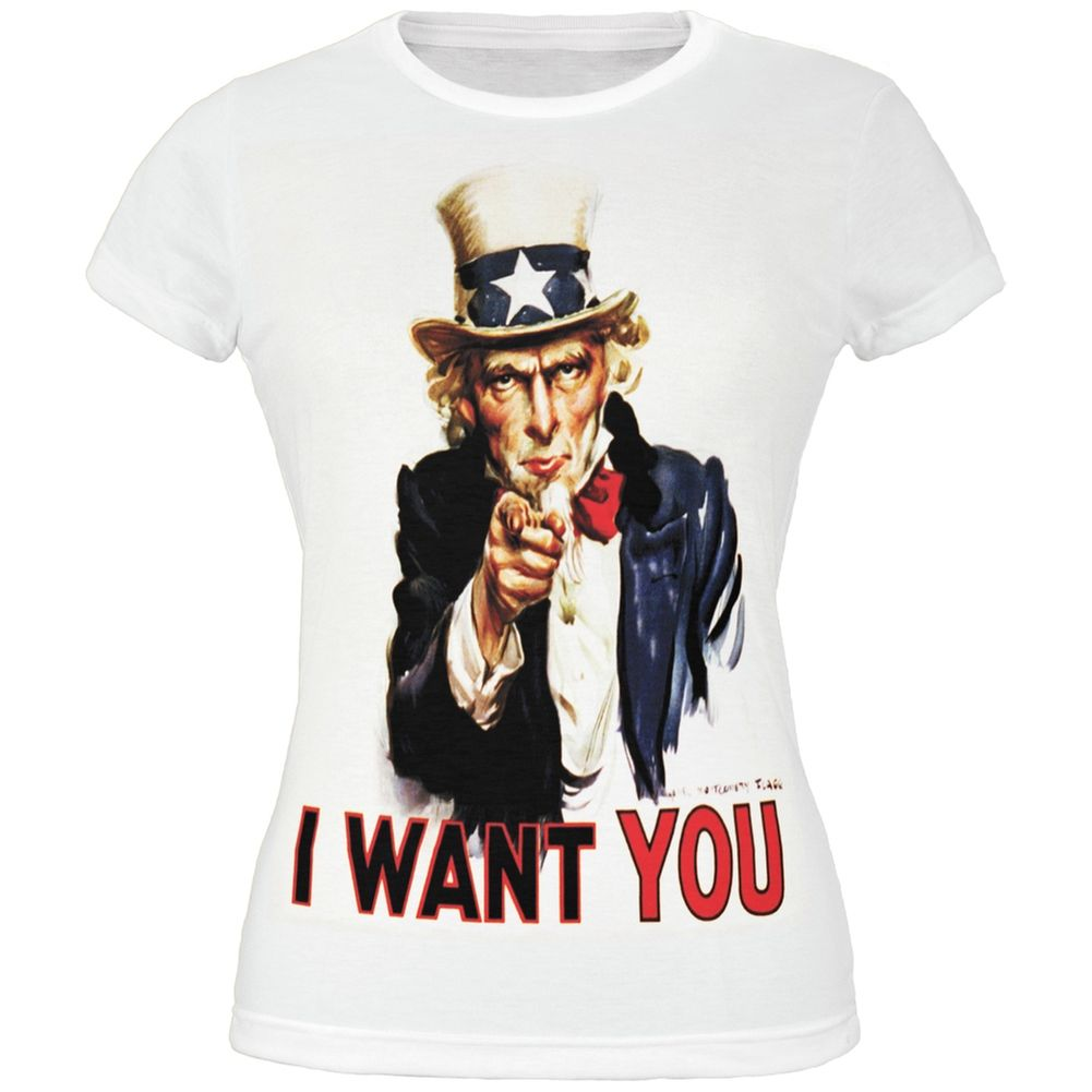 4th of july patriotic uncle sam all over juniors tshirt
