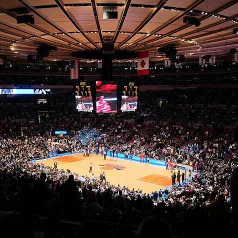 Madison square garden saw several college games casey and i saw knicks golden state places for New york knicks madison square garden