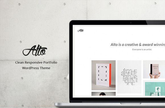 Check out Alto - Clean Portfolio WP Theme by Maelstrom on Creative Market