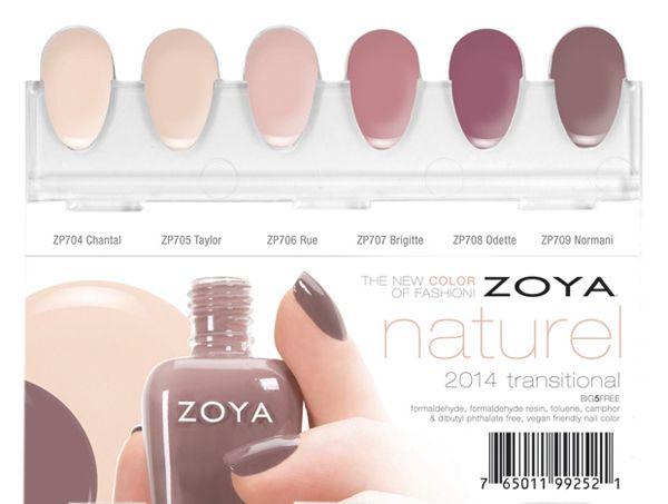 Zoya Naturel Nail Polish Collection Coming Soon Zoya Nail