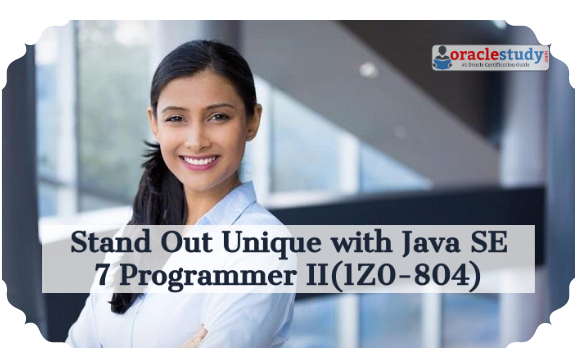 Get complete detail on 1Z0-804 exam guide to crack Java SE 7. You can collect all information on 1Z0-804 tutorial, practice test, books, study material, exam questions, and syllabus. https://1z0804studyguideblog.wordpress.com/2016/11/09/how-to-prepare-for-1z0-804-exam-on-java-se-7/