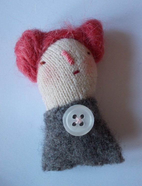 RESERVED LISTING Little Women art doll brooch by maidolls on Etsy