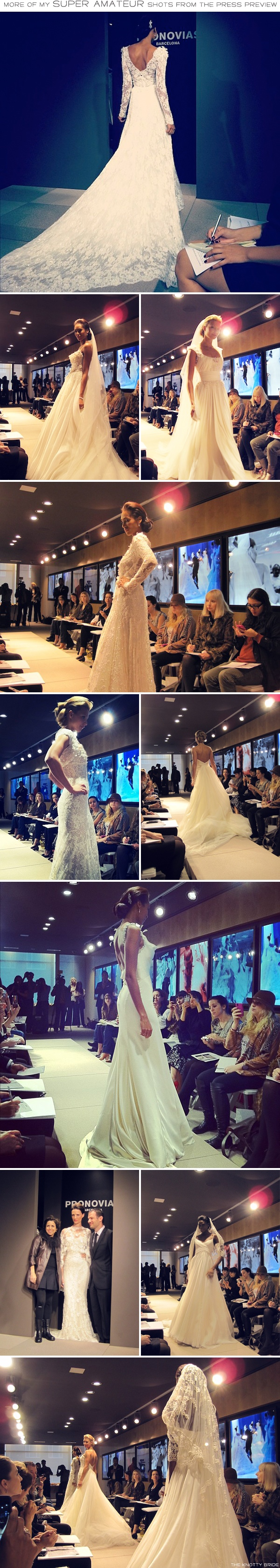 RUFFLES, TULLE, LACE, SATIN AND CHIFFON | PRETTIEST DRESSES IN THE LAND 2012 | No, seriously. These are the prettiest ones. [Bridal Market Coverage] | The Knotty Bride™ Wedding Blog + Wedding Vendor Guide