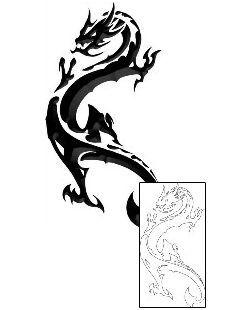 Photo of Tribal Dragon Tattoos LLF-00263 Erstellt von Lee Little
