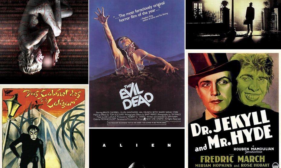 Image result for 70s horror movie art