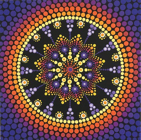 Mandala, Dot Mandala, Mandala Art, Mandala painting, Unique