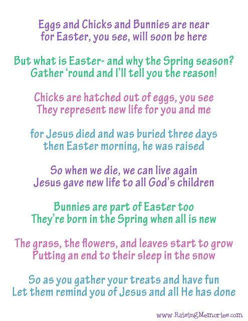 Easter Poems 2019 1