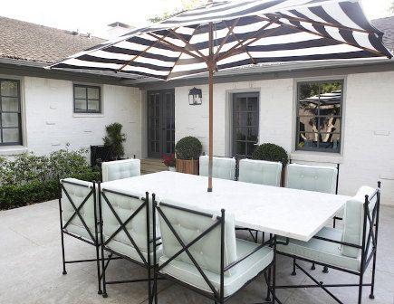 Black And White Stripe Ideas White Outdoor Furniture Outdoor