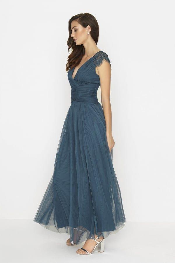 Little Mistress Petrol Maxi Dress | Hochzeit | Pinterest | Maxi dresses
