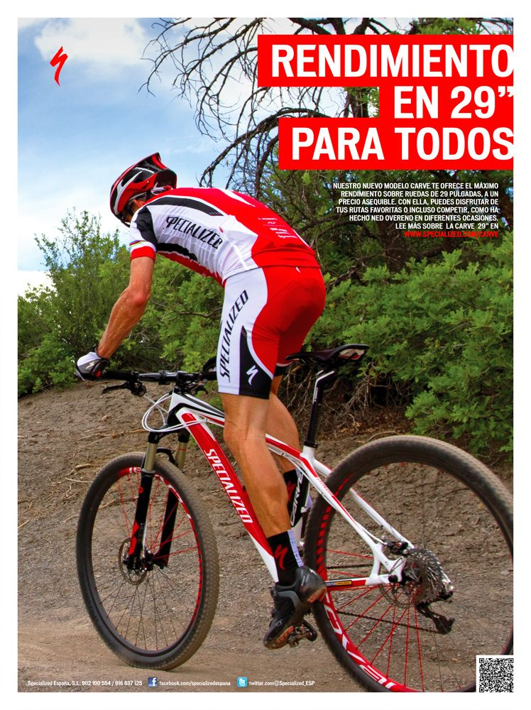 Specialized Carve 29er http://www.specialized.com/es/es/bikes ...