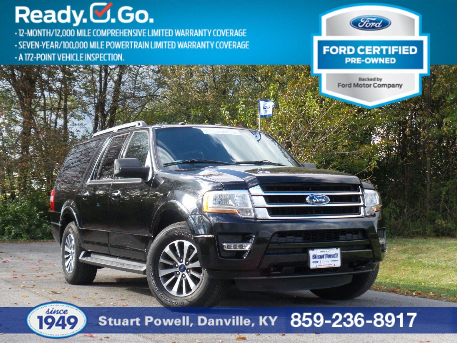 Have A Lot Of People Or Stuff To Haul Check Out This Certified Pre Owned 2016 Ford Expedi With Images Ford Expedition El Vehicle Inspection Ford Expedition