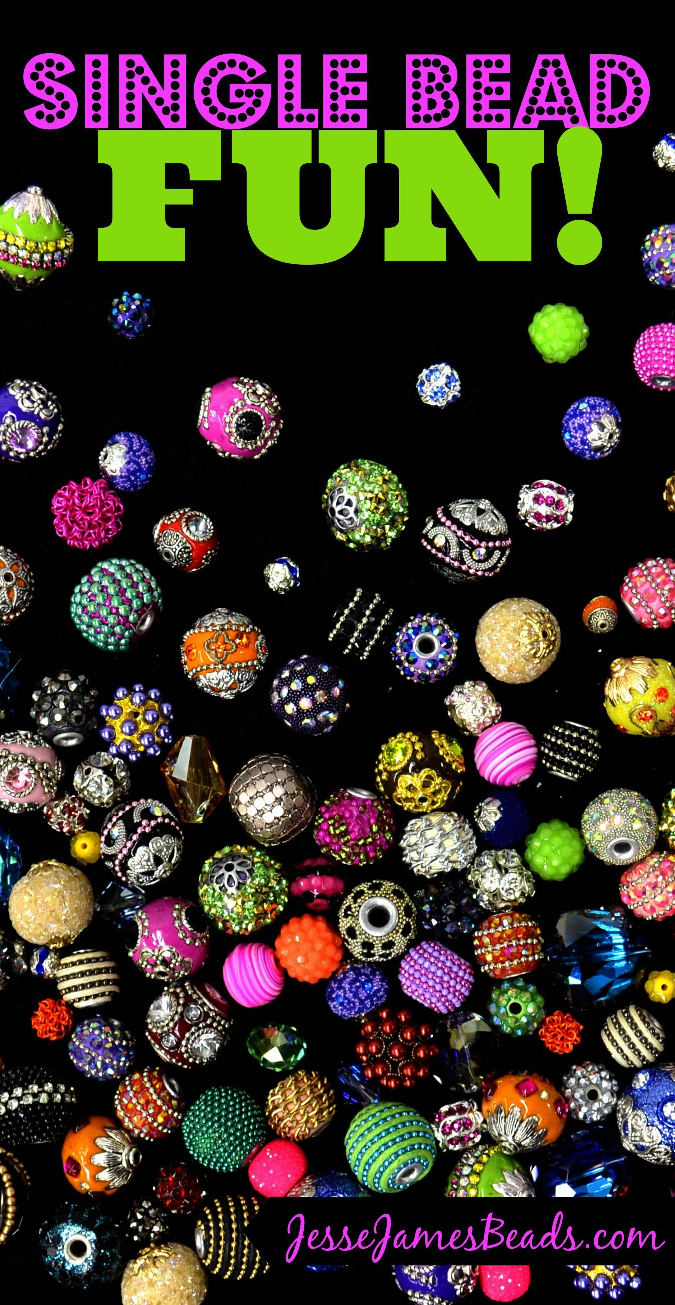 Unique single beads! Starting at just $0.49/bead.  Calling All Wholesalers! Free shipping now through Saturday on all US order over $150