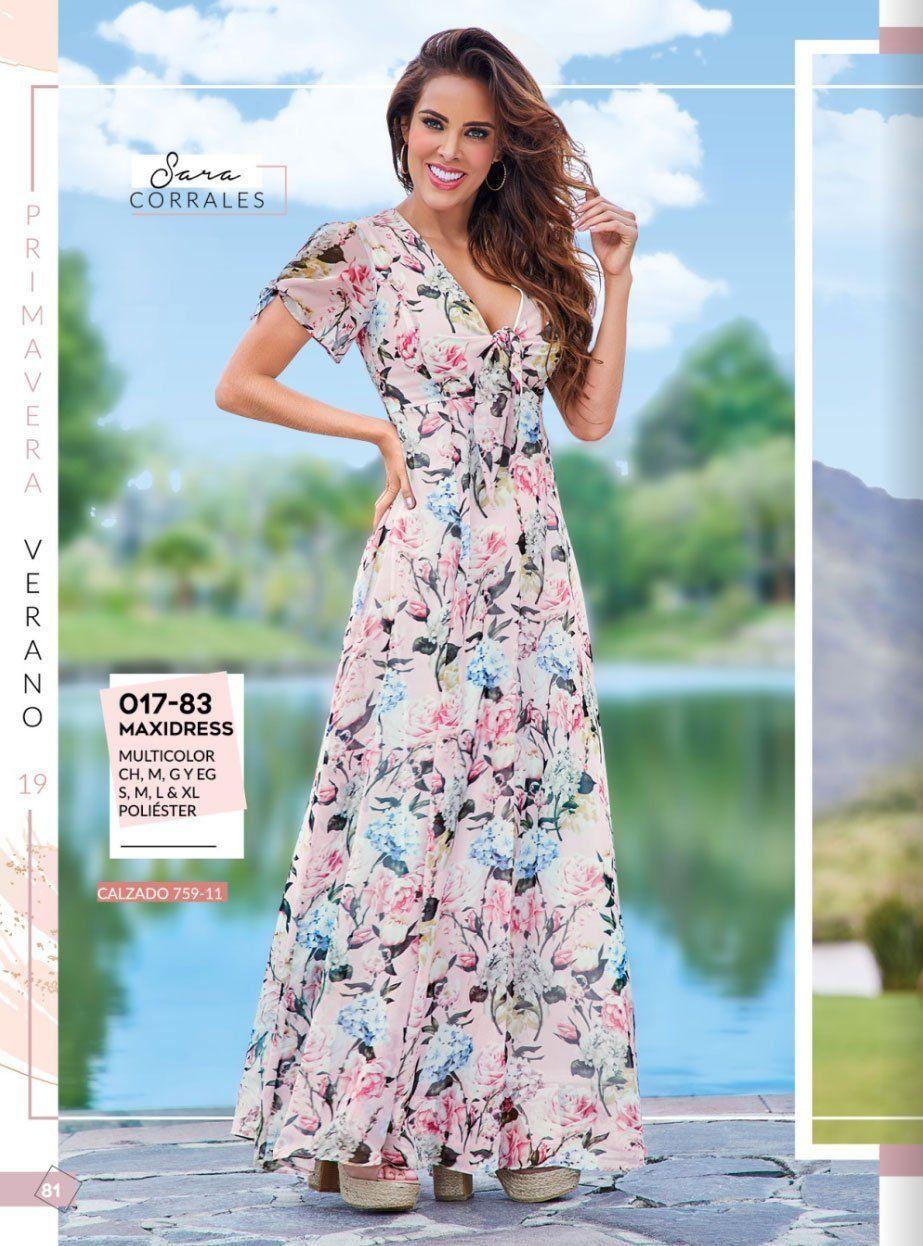 017 83 Ropa Dama Cklass Catalogo Dama Fashion Line Pv19 81 Multicolor Moda Estilo Ropa Vestido De Boda Informal