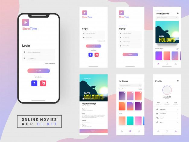 Pin on evolx App Design