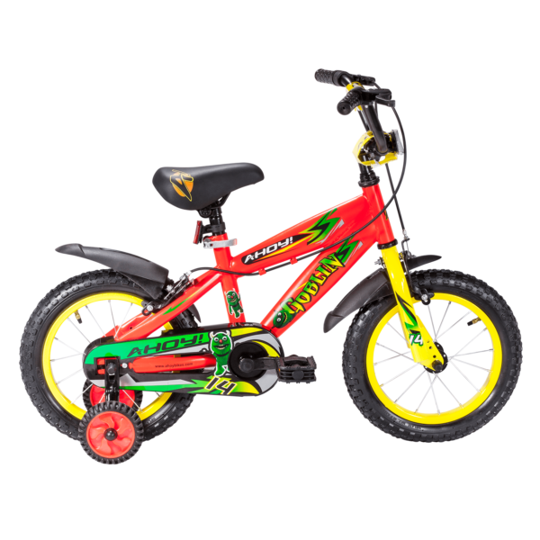 Goblin 14 Red Kids Bicycle Kids Cycle Baby Bicycle