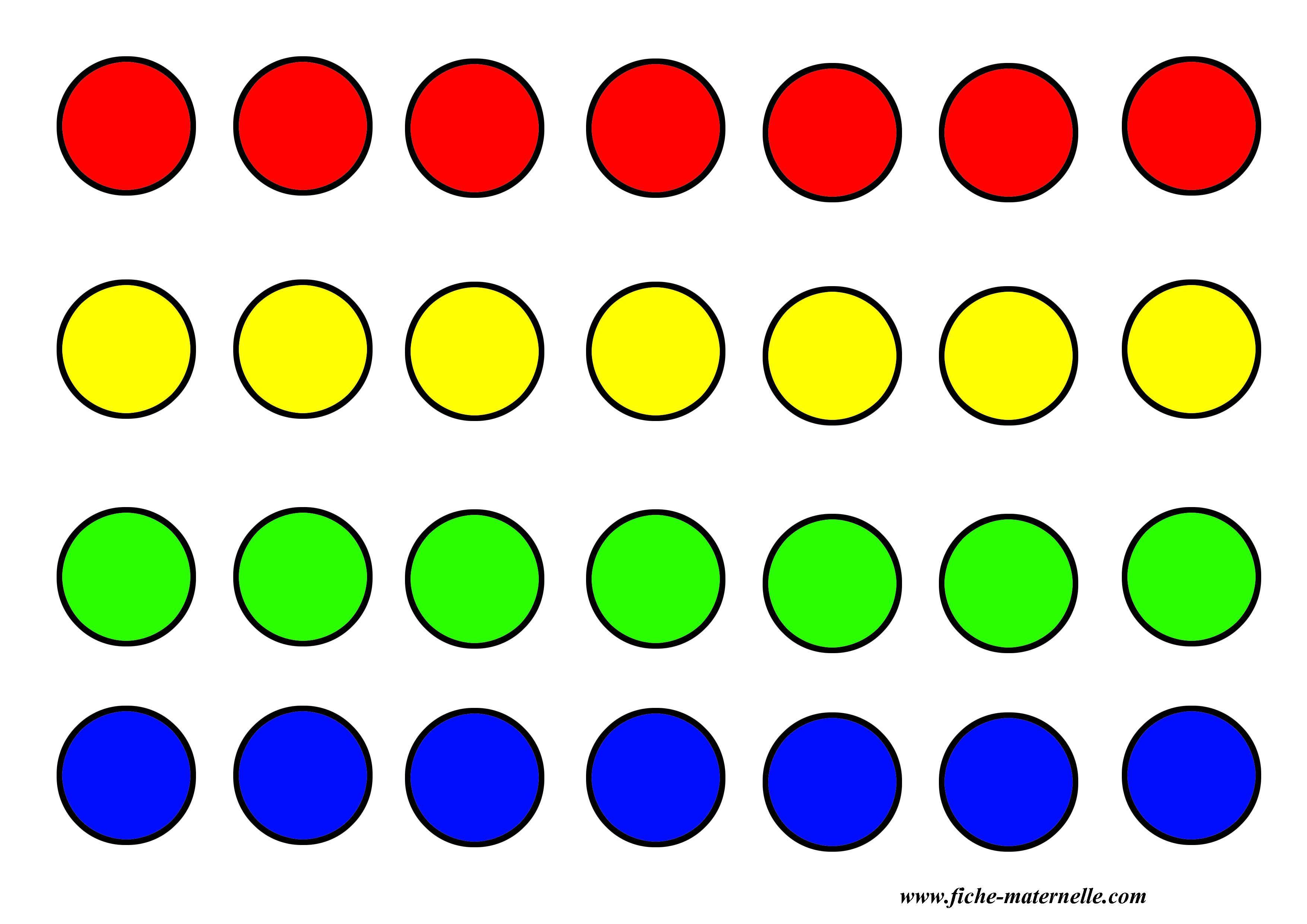 jeux pour apprendre les couleurs en maternelle a imprimer ...