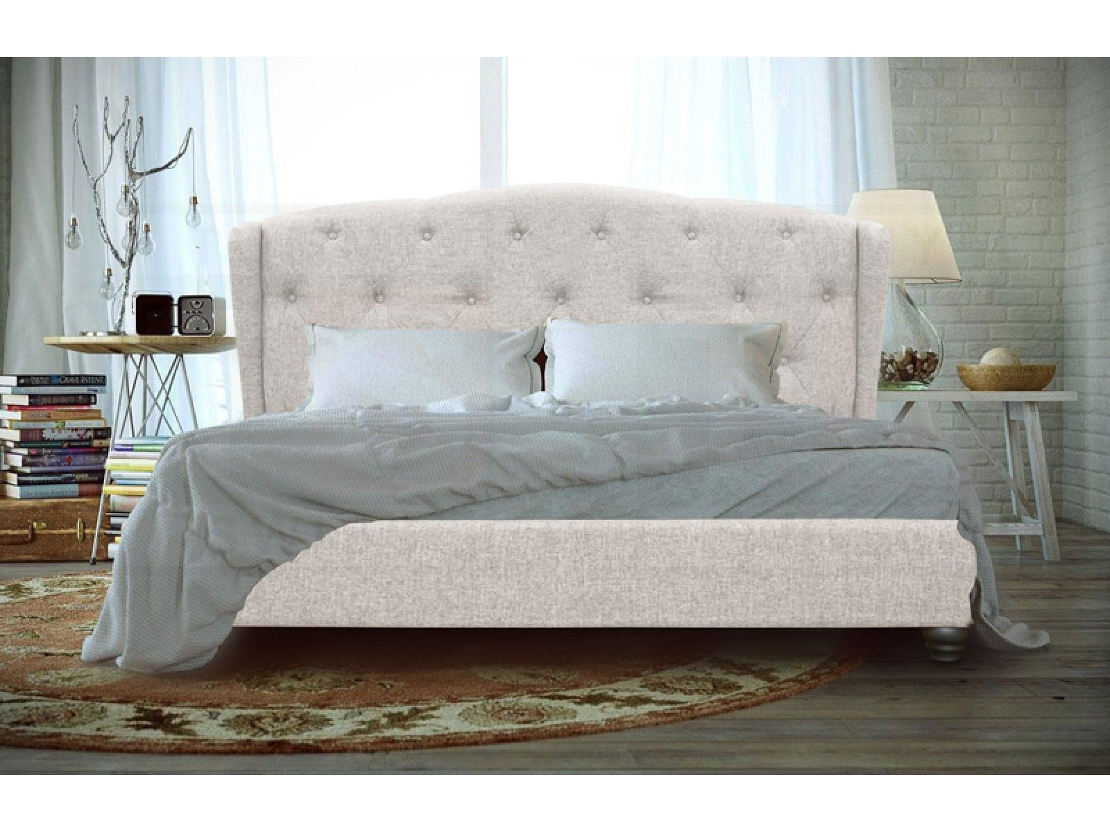 Comfortable Queen Size Bed Frame With Storage Underneath