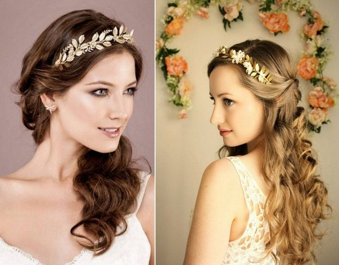 Trending Greek Style Hair Accessories On Your Engagement Hair Jewelry Wedding Hair Accesories Hair Styles