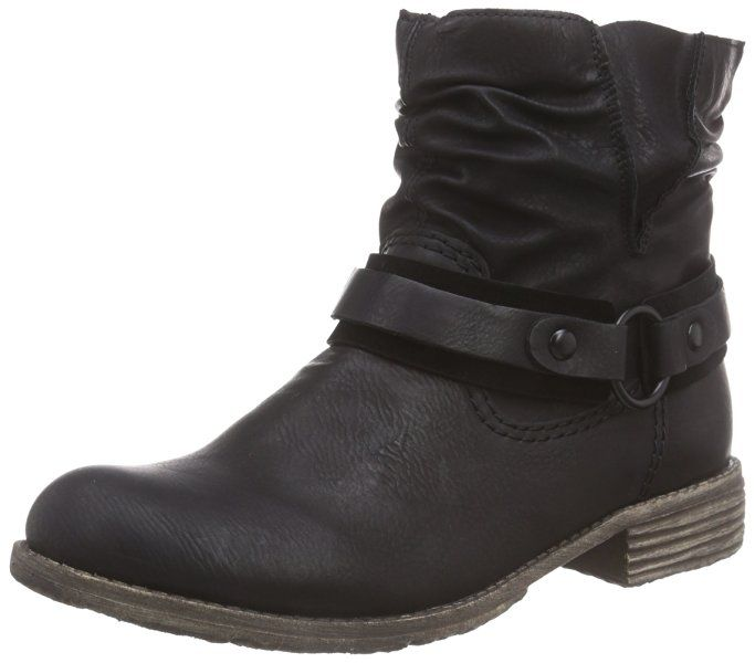 Rieker 74762, Women's Ankle Boots, Black (SchwarzSchwarz01