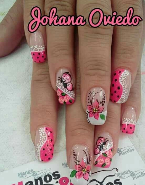 Pin by Kattia Delgado Saborio on Diseño de uñas elegancia ...
