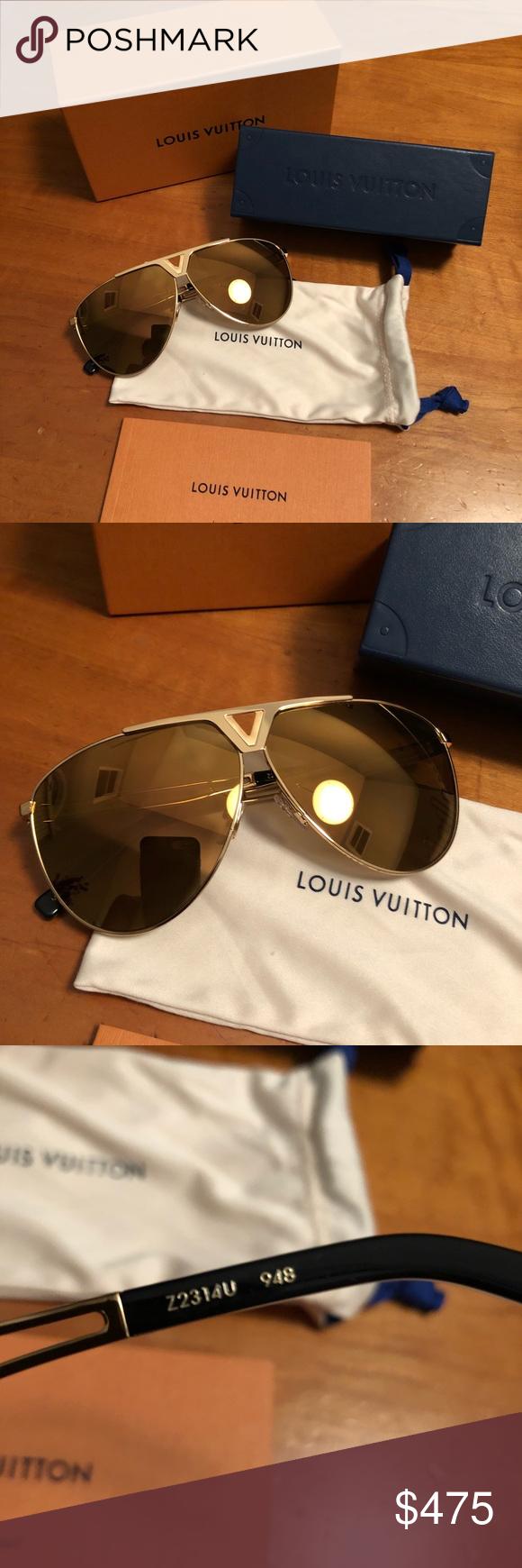 Louis Vuitton's tonca Sunglasses Brand new ! Authentic ...