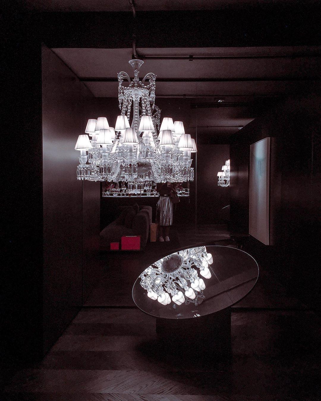 Photo of Baccarat chandelier-Lustre Baccarat  Baccarat at CasaCor SP …