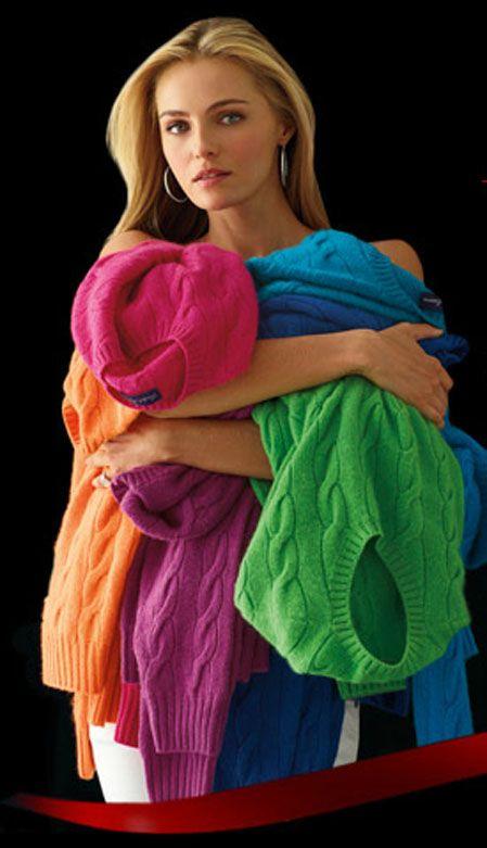 Ralph Lauren Colorful Comfortable Cashmere