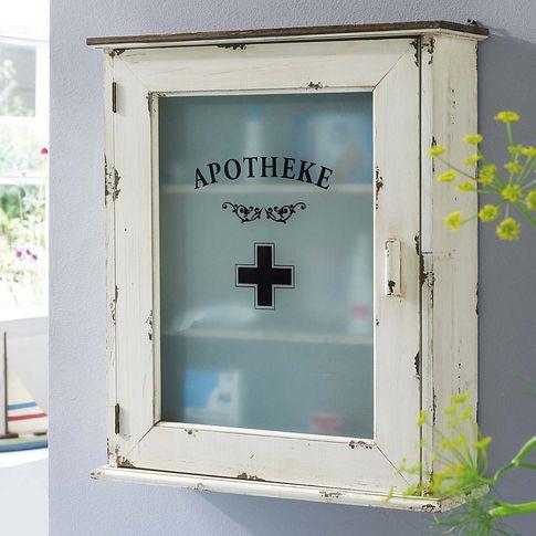 Medizinschrank in altweiß von LIAMARE bei Schneider BATHROOM - schubladen ordnungssystem küche