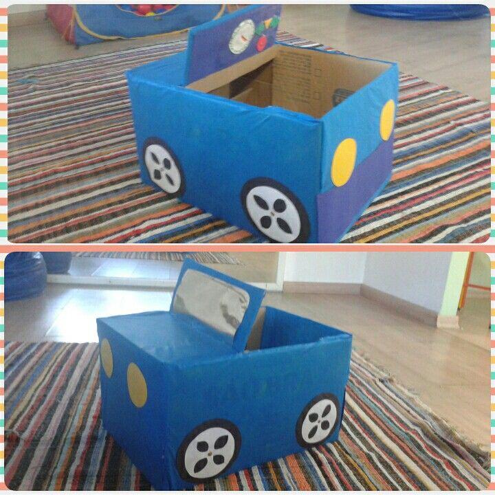 Carro De Papelão Reciclável Tasarım Carro De Papelão Carrinhos