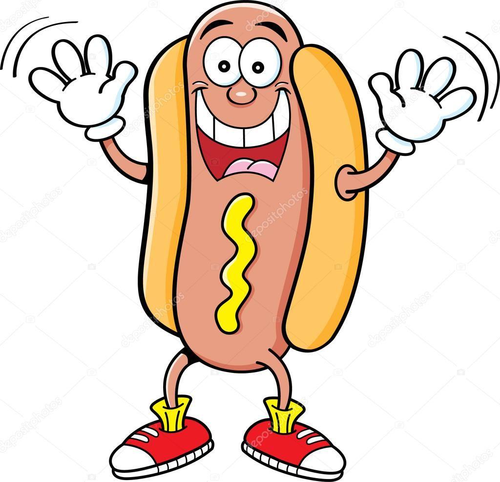 resultado de imagem para hot dog clip art cartoon images cricut creations tigger  [ 1024 x 986 Pixel ]