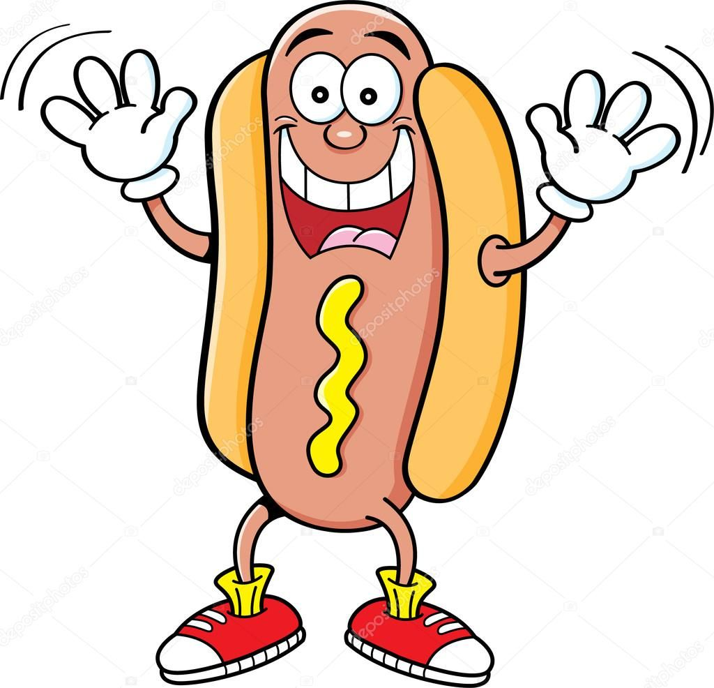 small resolution of resultado de imagem para hot dog clip art cartoon images cricut creations tigger