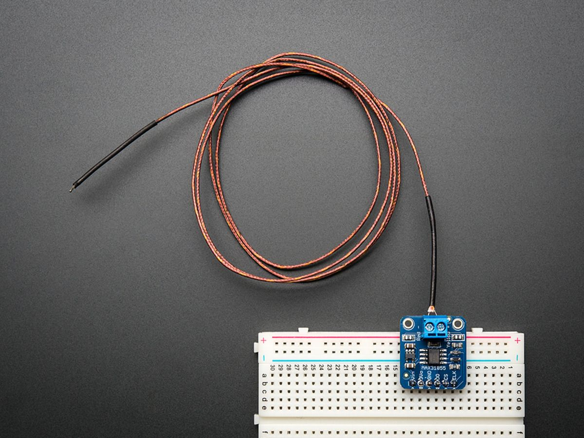 Thermocouple Amplifier Max31855 Breakout Board Max6675 Upgrade Overview Adafruit Microphone Learning V20