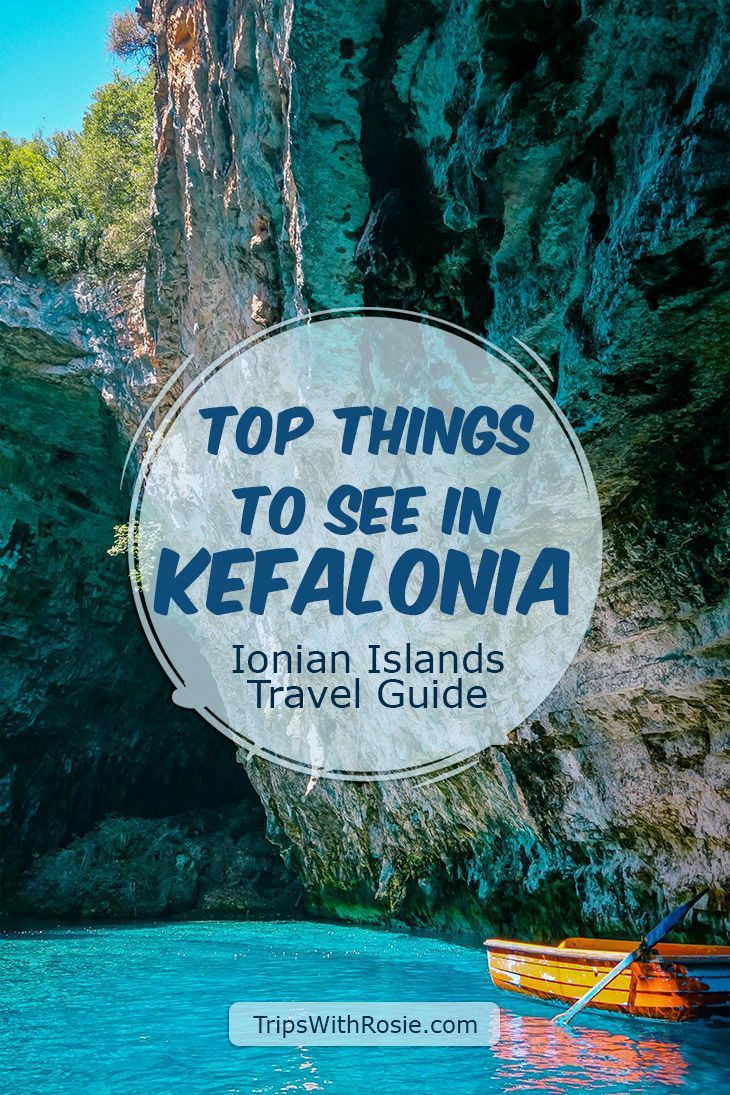 Kefalonia Travel Guide - Top Things to See | Trips with Rosie #visitgreece