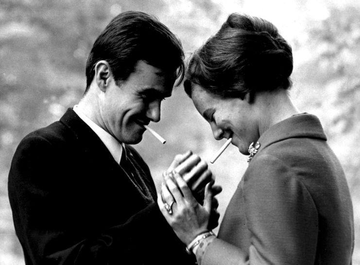 Se billederne af Henrik og Margrethe gennem 50 år