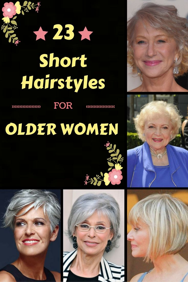 Classy u simple short hairstyles for older women short
