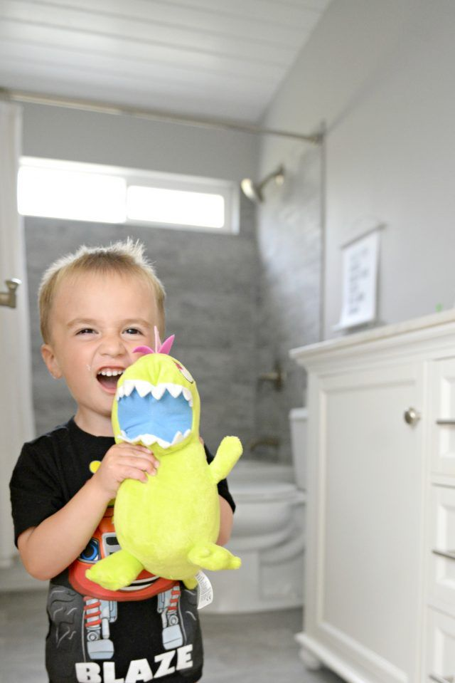 Kids + Guest Bathroom Update on a Budget images