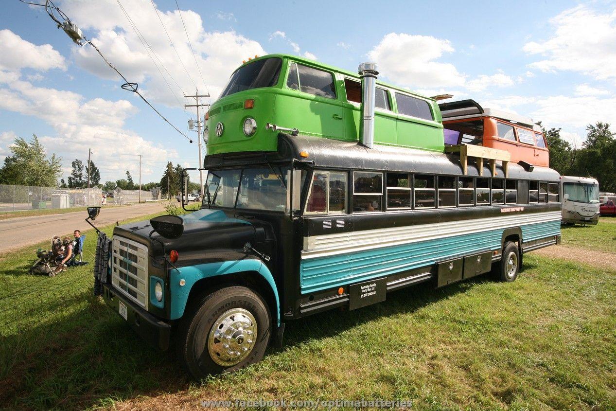 school bus vw van hybrid motor home party bus osh2013 eaa airventure vroom vroom cars. Black Bedroom Furniture Sets. Home Design Ideas