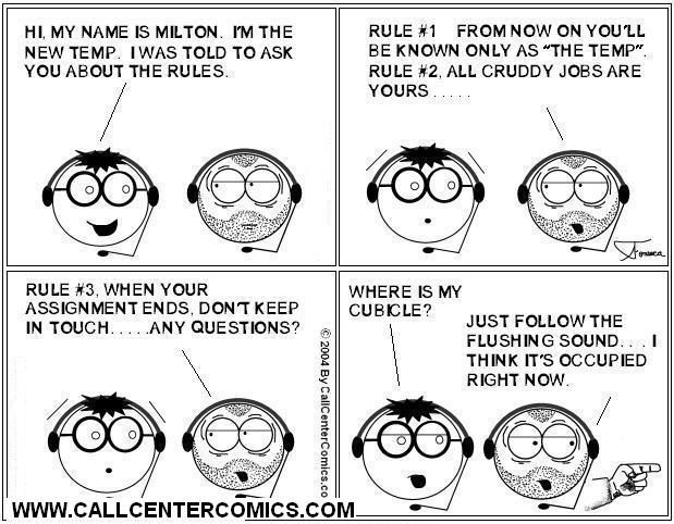 Call Center Cartoons  Snippits And Snappits Temporary Jobs