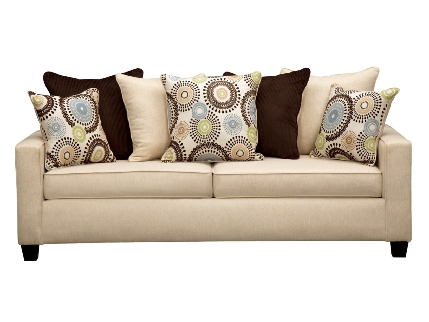 Value City Furniture Living Room Stoked Cream Sofa Value City Furniture Furniture And Decor For