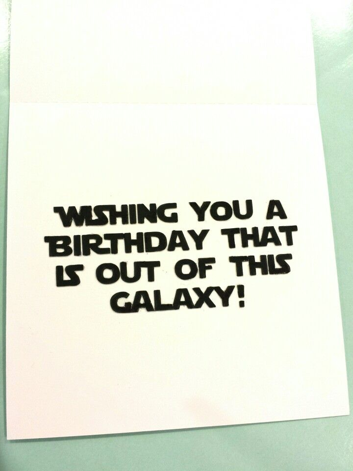 Darth vader birthday card inside cards pinterest darth vader darth vader birthday card inside bookmarktalkfo Image collections
