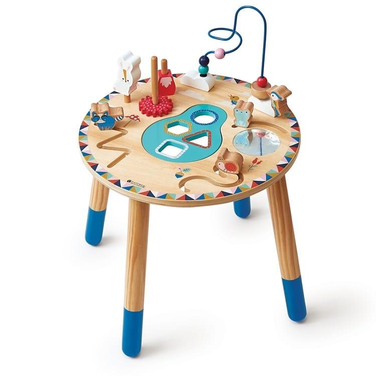 Table Multi Activites Galopins Nature Decouvertes Jouets En Bois Pour Enfants Jouet Eveil Table D Activite