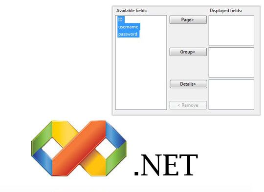 Easy way to create report in VBnet using MS Access Projects to - how to create a report