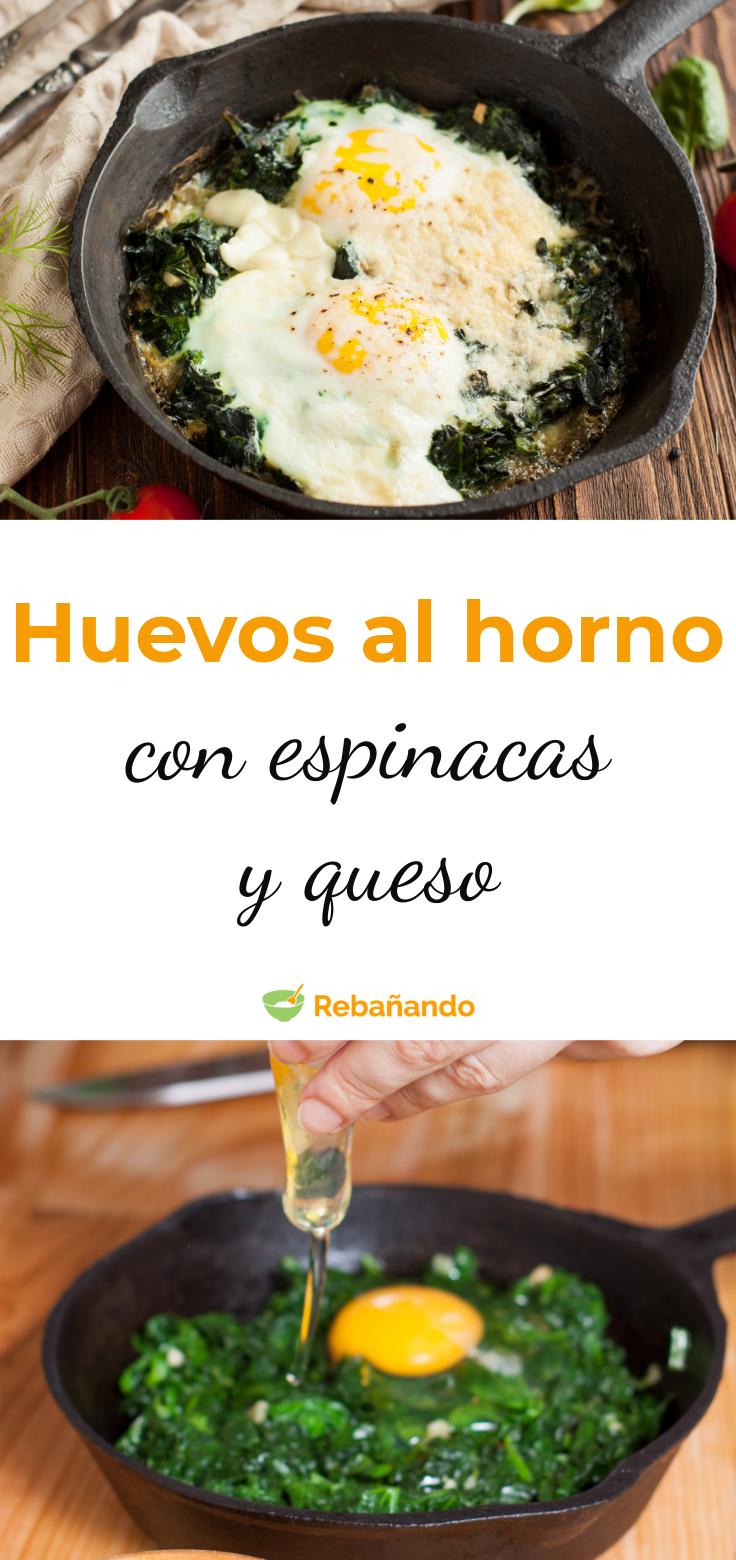 Huevos Al Horno Con Espinacas Un Plato Muy Completo Y