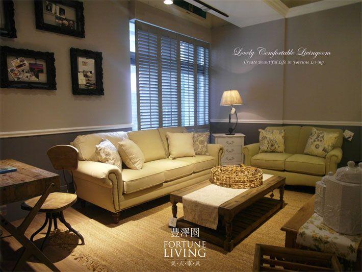 安適平靜的起居氛圍 是讓人愛上回家的理由 三人座沙發 W210 D100