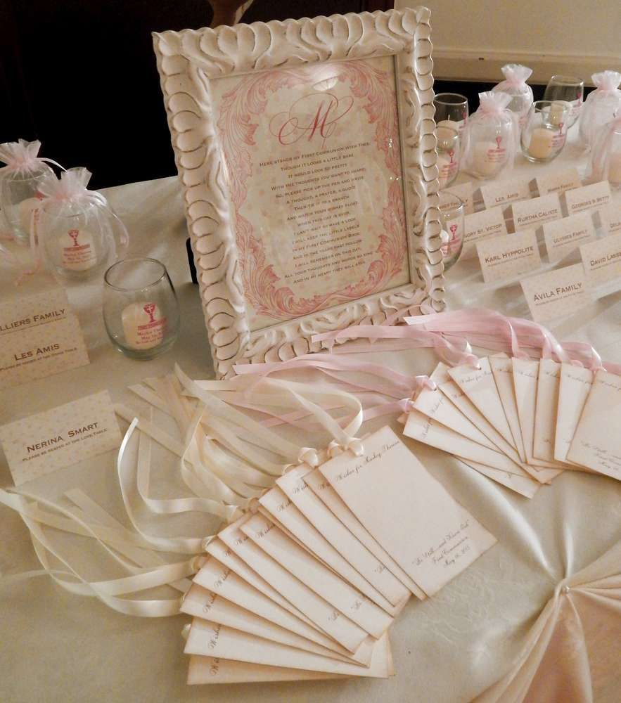 vintage first holy communion first communion party ideas | priimera