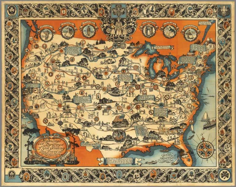 David Rumsey Historical Map Collection Over 2,000 Pictorial Maps - new unique world map poster