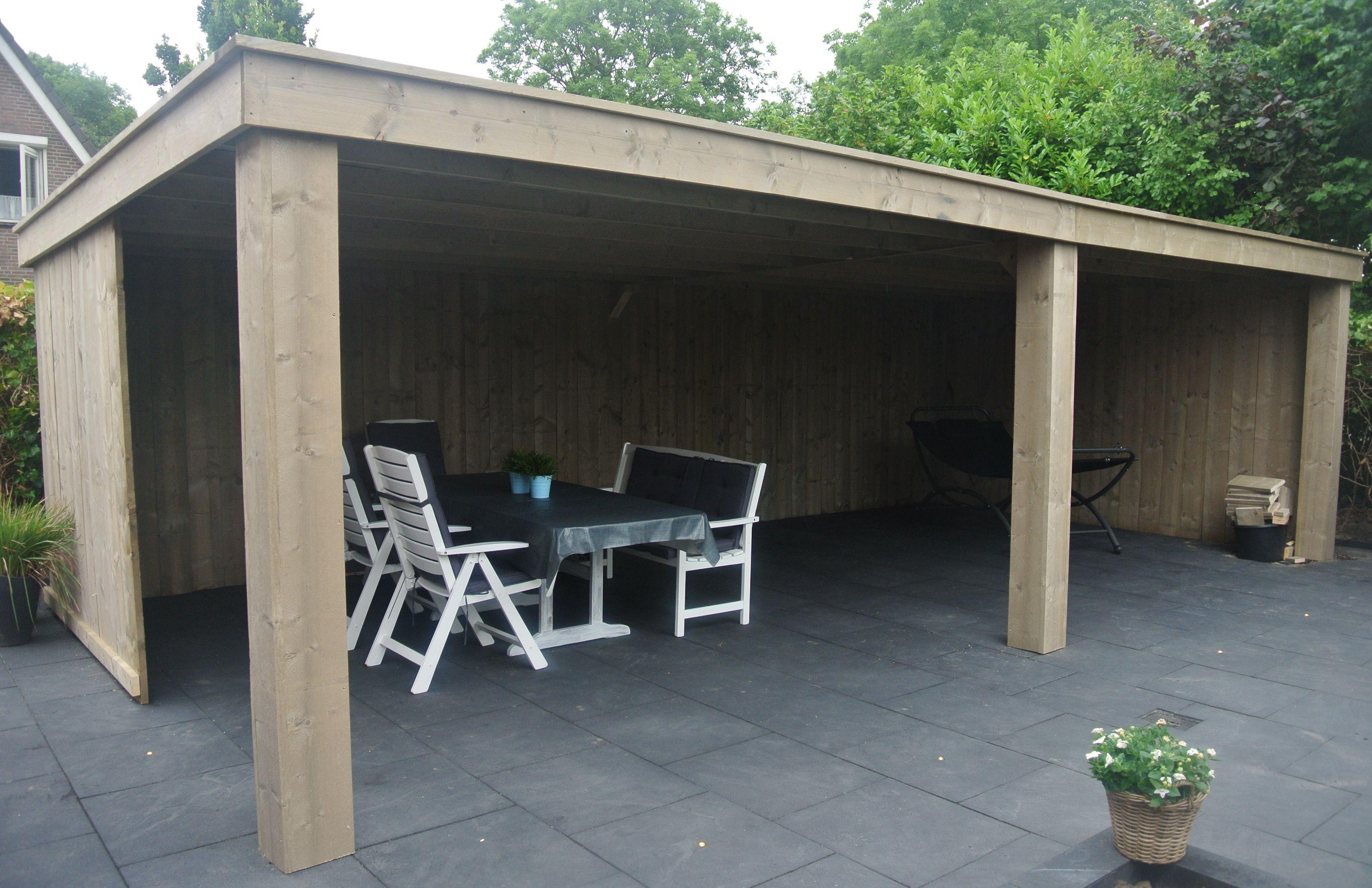 Vinyl Steigerhout Look : Overkapping van steigerhout meer informatie via www.bartsmeubelen