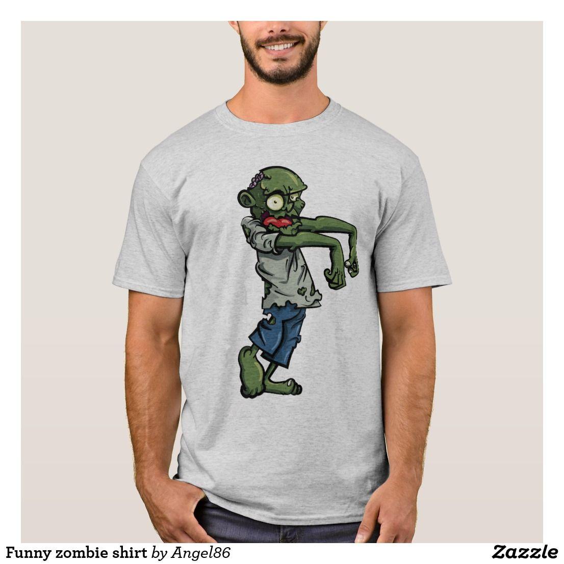 Funny zombie shirt zombie shirt funny